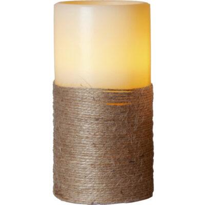 LED žvakė ROPE (15 cm)