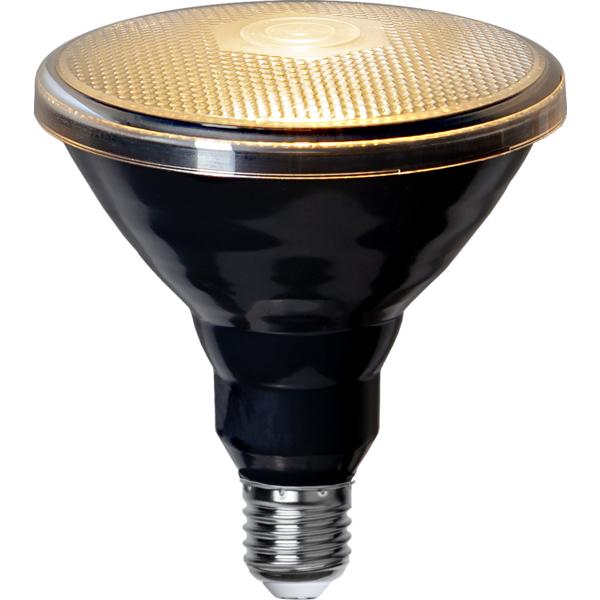 LED lemputė PAR38 SPOTLIGHT BLACK, 15W / 2700K / E27