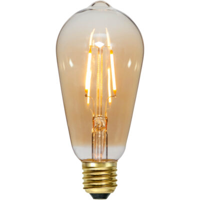 LED lemputė girliandai ST64 PLAIN AMBER, 0.75W / 2000K / E27