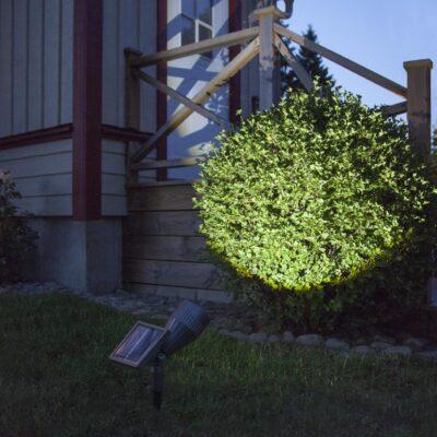 Galingas žibintas su saulės baterija POWER SPOT SOLAR Saulės baterijos