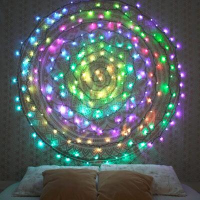 20m išmani LED lempučių girlianda TWINKLY