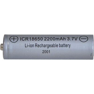 Pakraunama baterija 18650 3,7V 2200MAH LI-ION