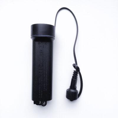 Baterijų blokas su mirksėjimo funkcijomis girliandoms 31V DC