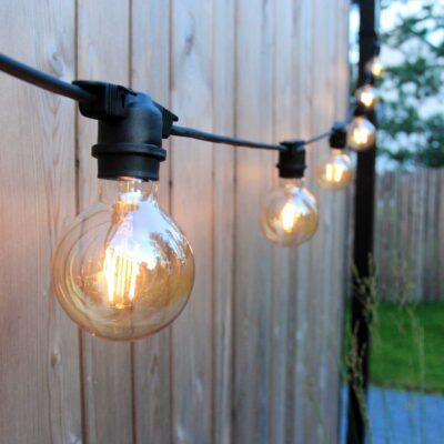 5m sujungiamas lempučių girliandos laidas EXTRA 40