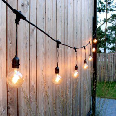 5m sujungiamas lempučių girliandos laidas EXTRA DROP