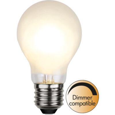 LED lemputė girliandai A60 FROSTED DIM, 4W / 2700K / E27