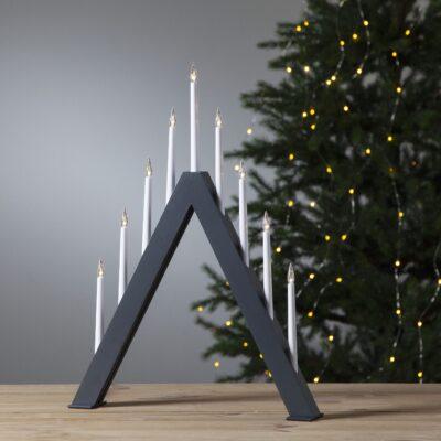 Kalėdinė langinės dekoracija JAZZ GREY