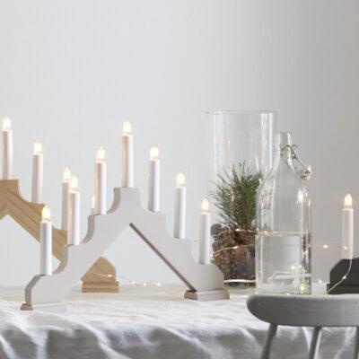 Kalėdinė langinės dekoracija ADAGIO GREY