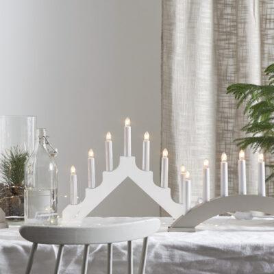 Kalėdinė langinės dekoracija ADAGIO WHITE