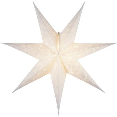 Popierinė žvaigždė DECORUS WHITE 63CM