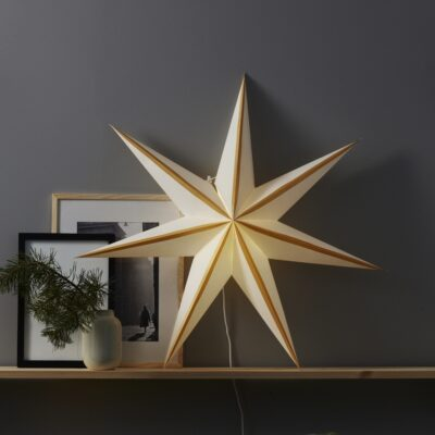 Popierinė žvaigždė RANDI GOLD 75CM