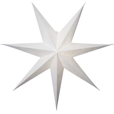 Popierinė žvaigždė DECORUS WHITE 75CM