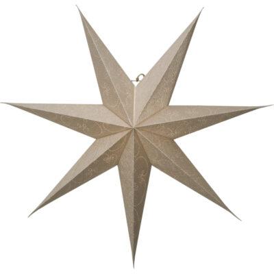 Popierinė žvaigždė DECORUS GOLD 75CM