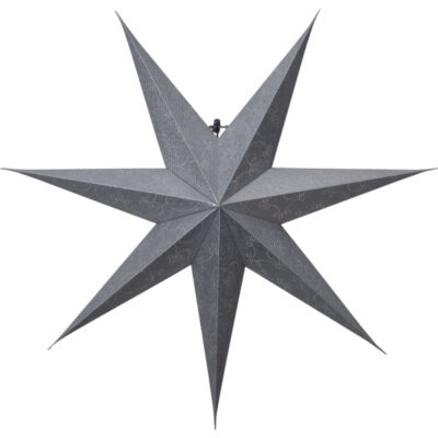 Popierinė žvaigždė DECORUS SILVER 75CM