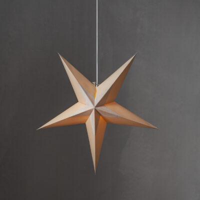 Popierinė žvaigždė DIVA BEIGE 60CM
