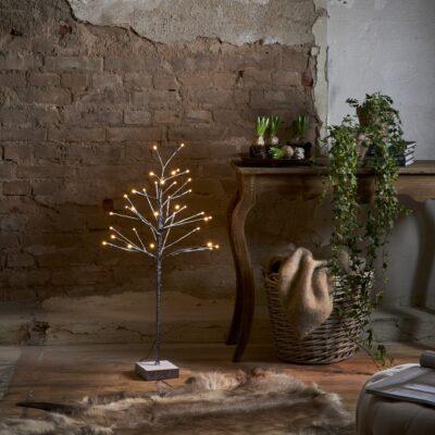 Kalėdinė vidaus dekoracija SNOWFROST TREE 90CM